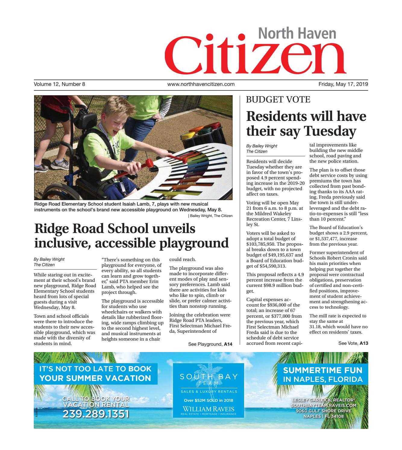 North Haven Citizen May 17, 2019 by North Haven - issuu