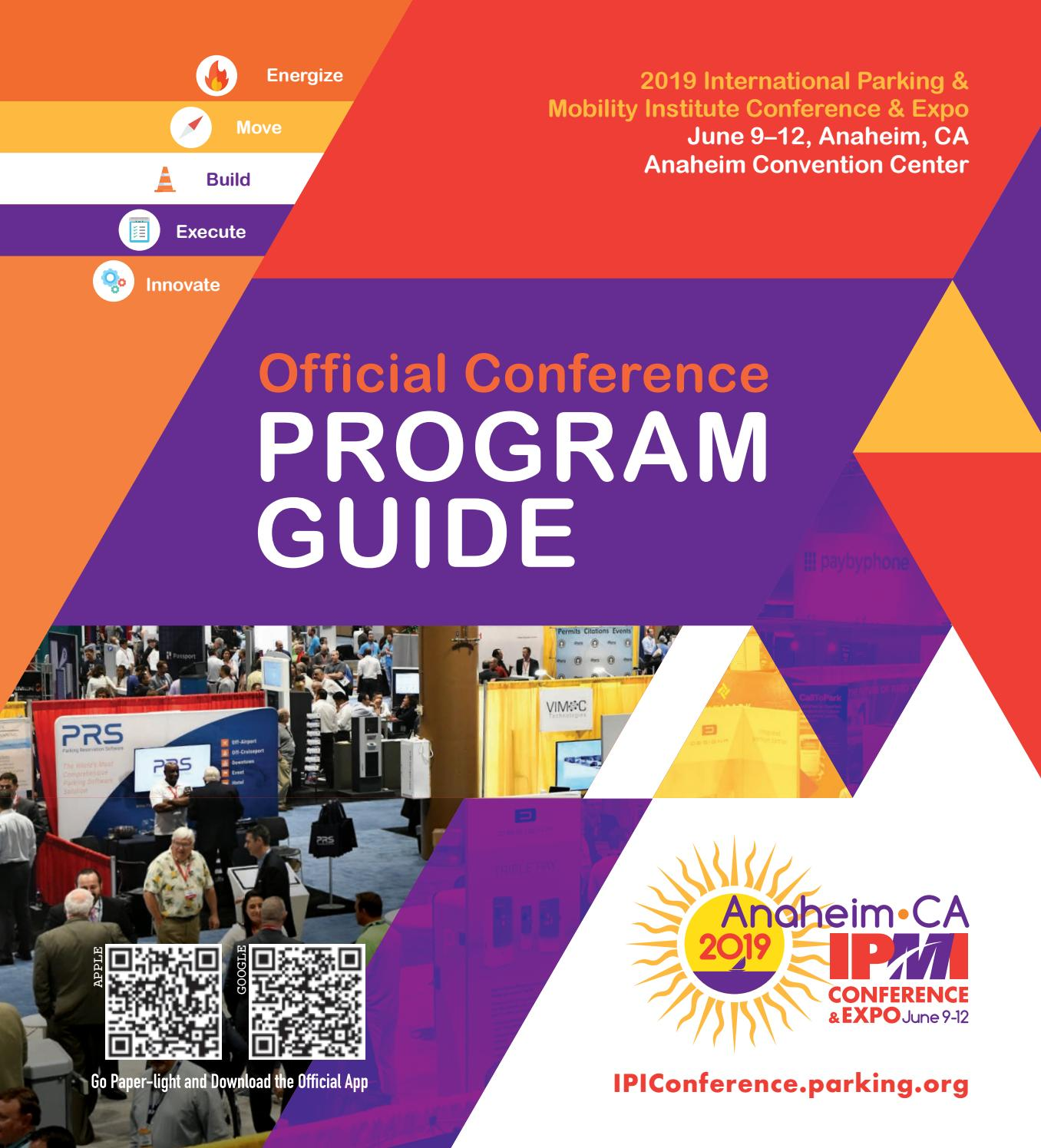 2019 IPMI Conference & Expo Program Guide by International Parking
