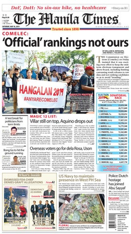 The Manila Times | May 18, 2019 by The Manila Times - issuu