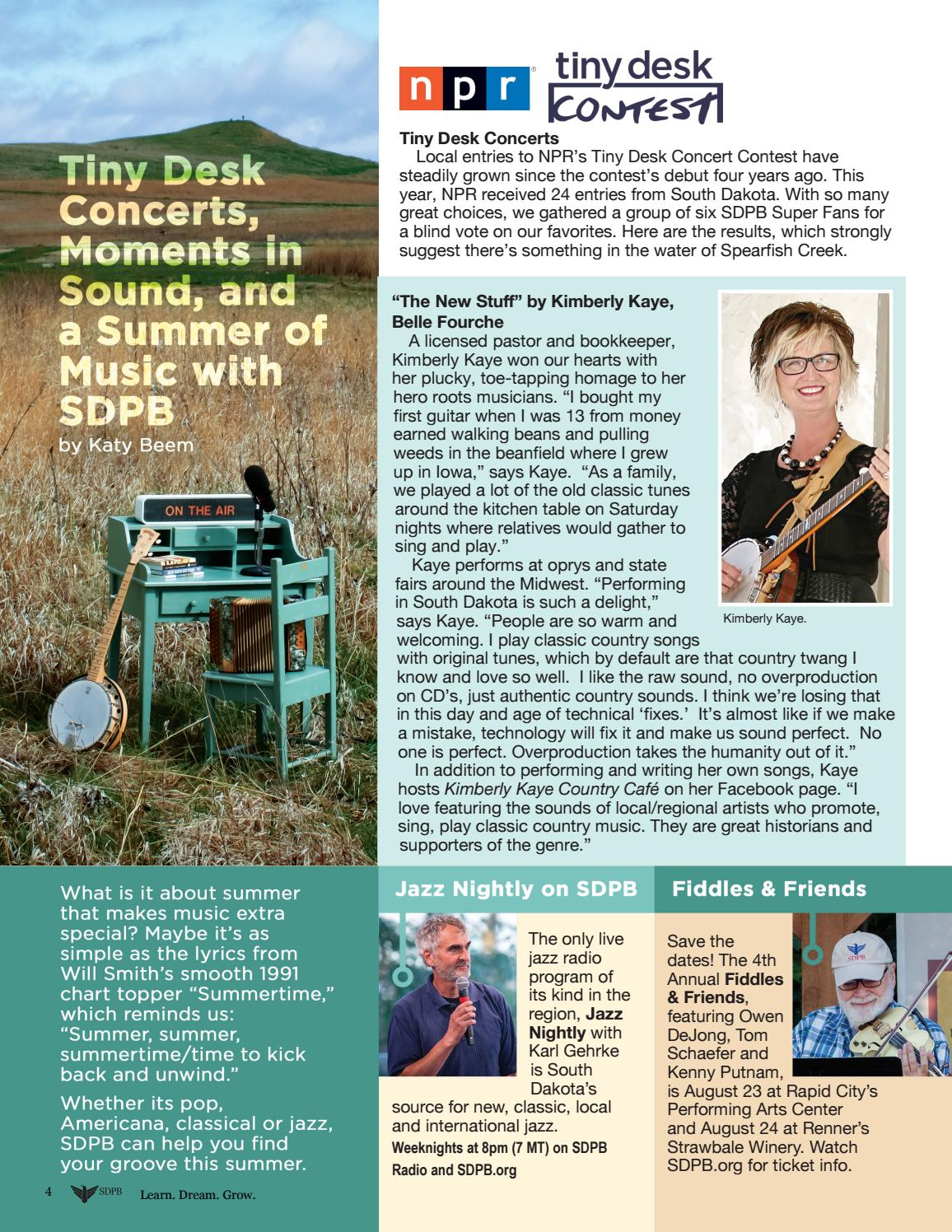 Fine Sdpb June 2019 Magazine By South Dakota Public Broadcasting Beutiful Home Inspiration Cosmmahrainfo