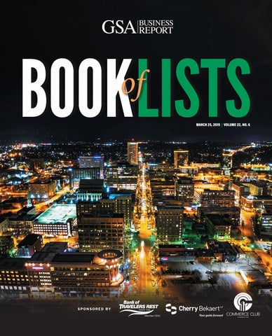 2019 GSA Book of Lists by SC BIZ News - issuu Dallas Tx Longitude And Laude on