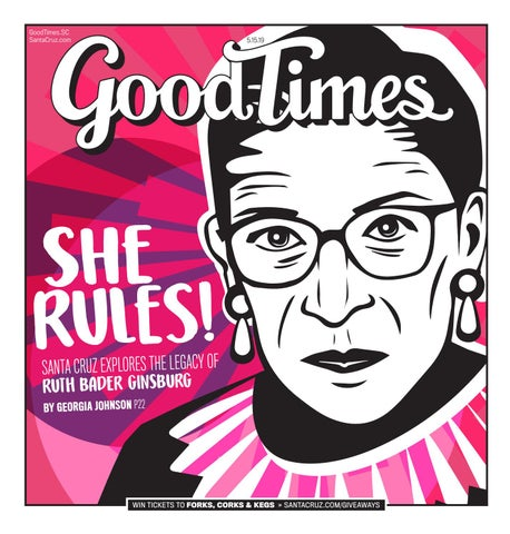 Good Times Santa Cruz May 15-21, 2019 by Metro Publishing