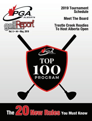 PGA Of Alberta Golf Report - May Issue by Inside Golf Inc