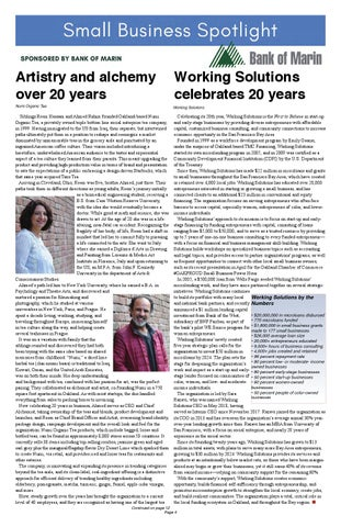Page 4 of Working Solutions celebrates 20 years