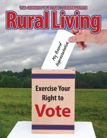 TCEC Rural Living: Exercise Your Right to Vote by Tri-County