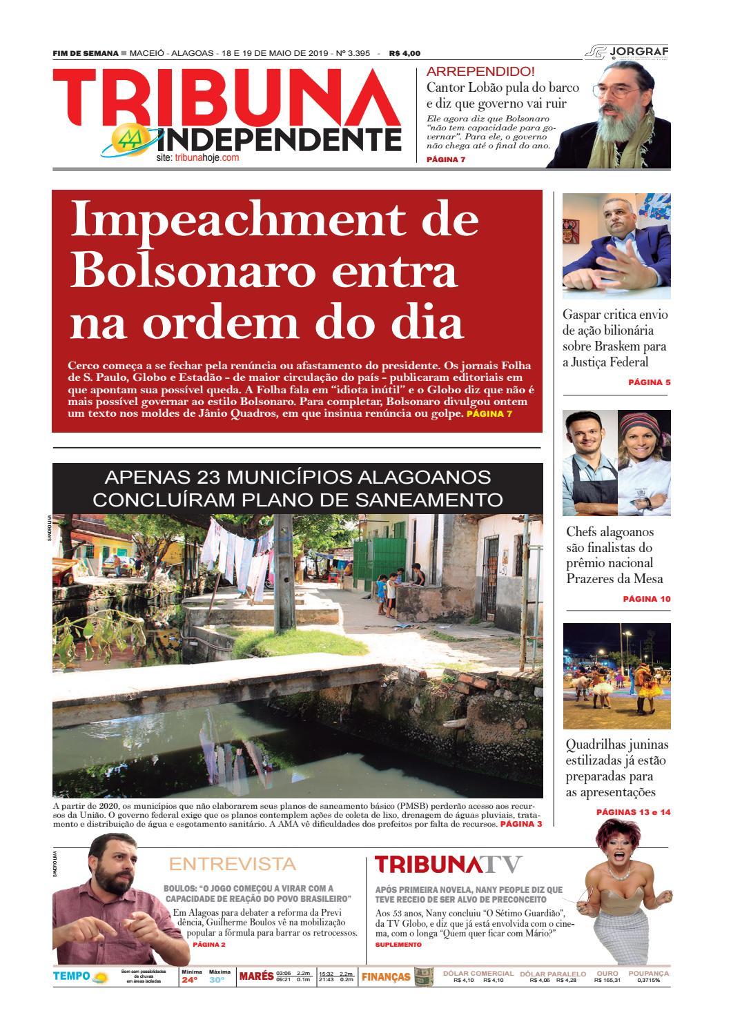 a099e7722 Edição número 3395 - 18 e 19 de maio de 2019 by Tribuna Hoje - issuu