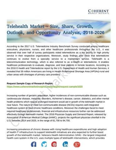 Telehealth Market Analysis On Prime Factors Ensuring Rapid
