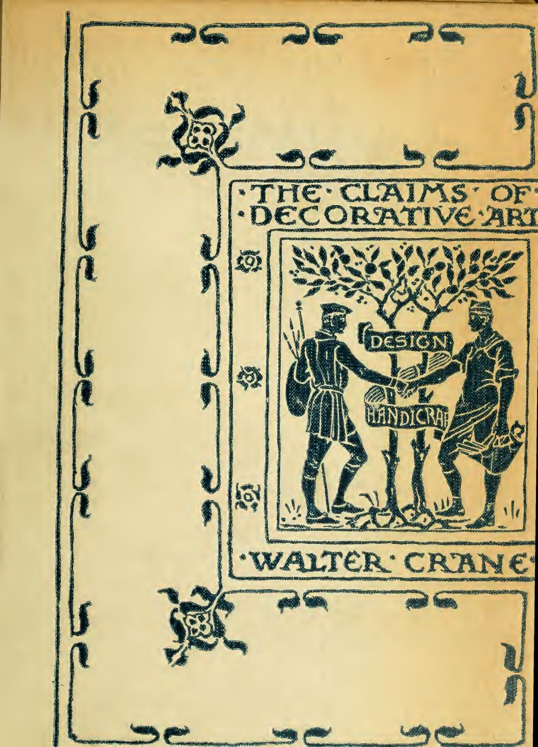 The Claim of Decorative Art by Walter Crane 1892 by Asanti