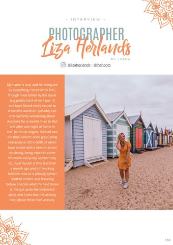 Page 152 of Photographer & traveller: Liza Herlands