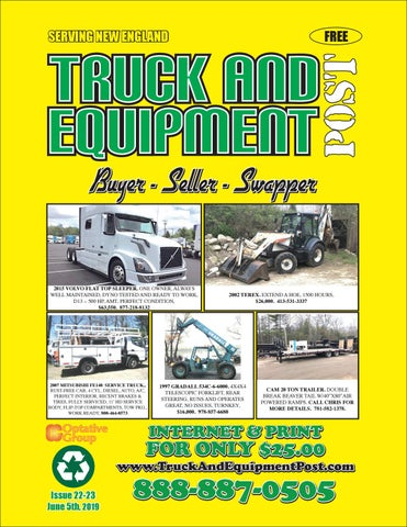 Truck And Equipment Post - Issue 22-23, 2019 by 1ClickAway - issuu