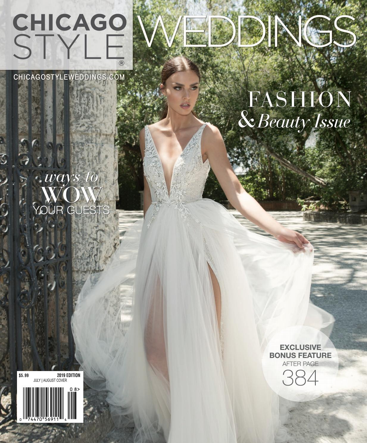 12994d65428 ChicagoStyle Weddings 2019 with Spring   Summer Exclusive Bonus Feature by  ChicagoStyle Weddings - issuu