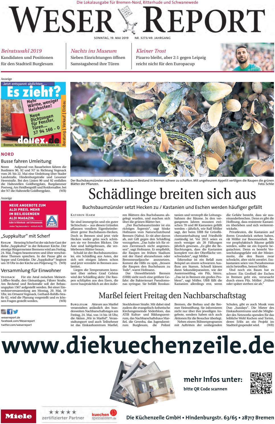 Weser Report - Nord vom 19.05.2019 by KPS Verlagsgesellschaft mbH ...
