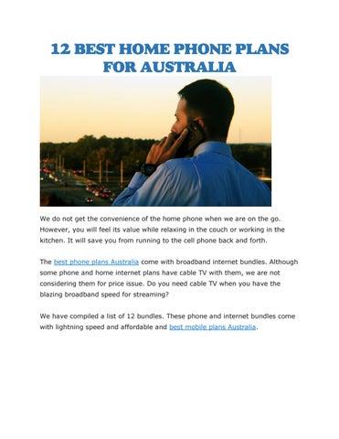 Best phone plans Australia by Tele Choice - issuu