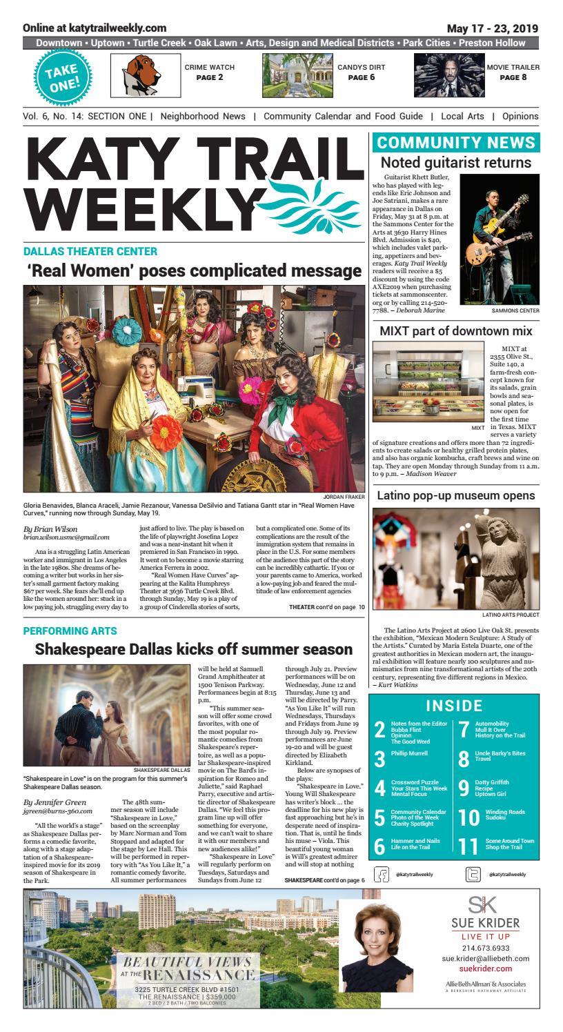 KTW 05-17-19 by Katy Trail Weekly - issuu