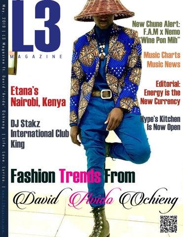 L3 Magazine ft  David 'Avido' Ochieng – May, 2019 by L3