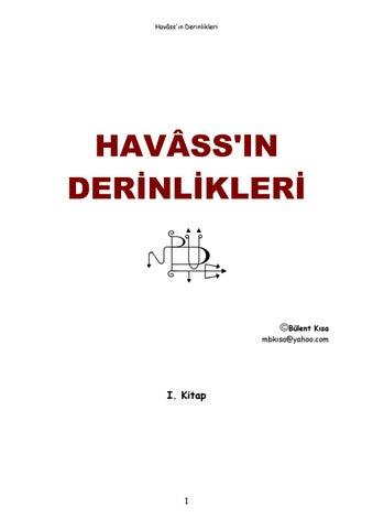 Havass In Derinlikleri Bulent Kisa 411 Sayfa By Turkce Havas