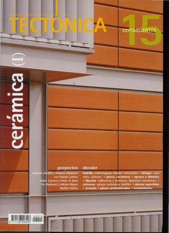 1353738e9b Nuevas fachadas cerámicas !ladrillo no ha estado ausente en ningún momento  de la historia de la arquitectura, y sólo la existencia masiva de otros ...
