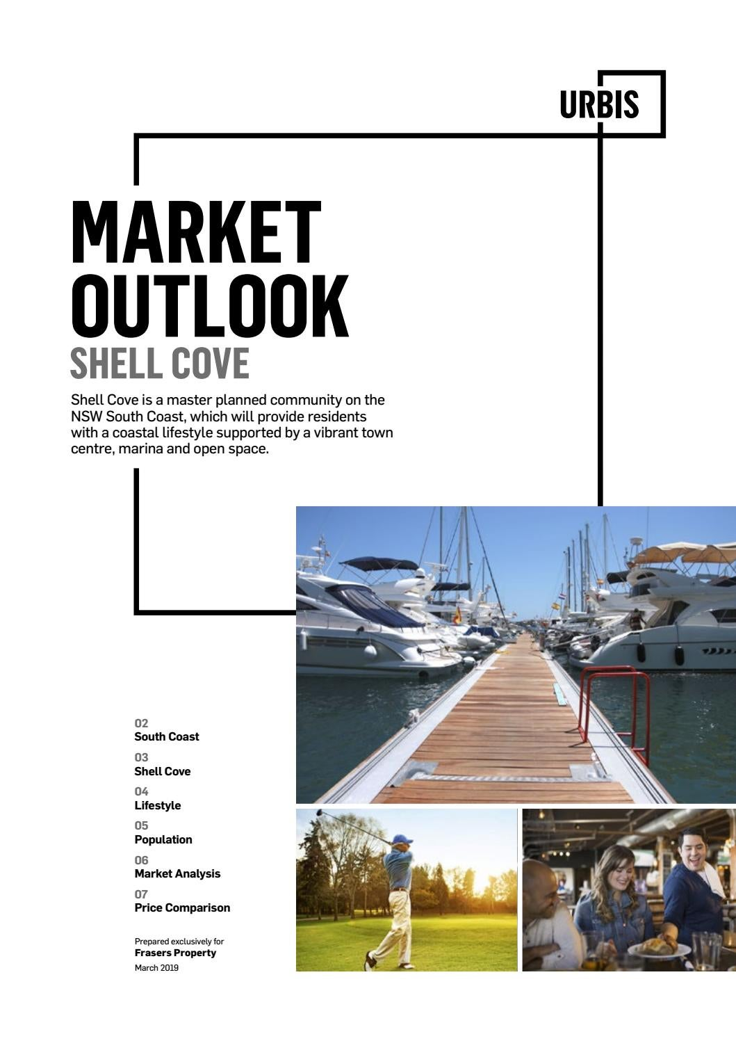 Shell Cove Market Outlook 2019 by Frasers Property Australia