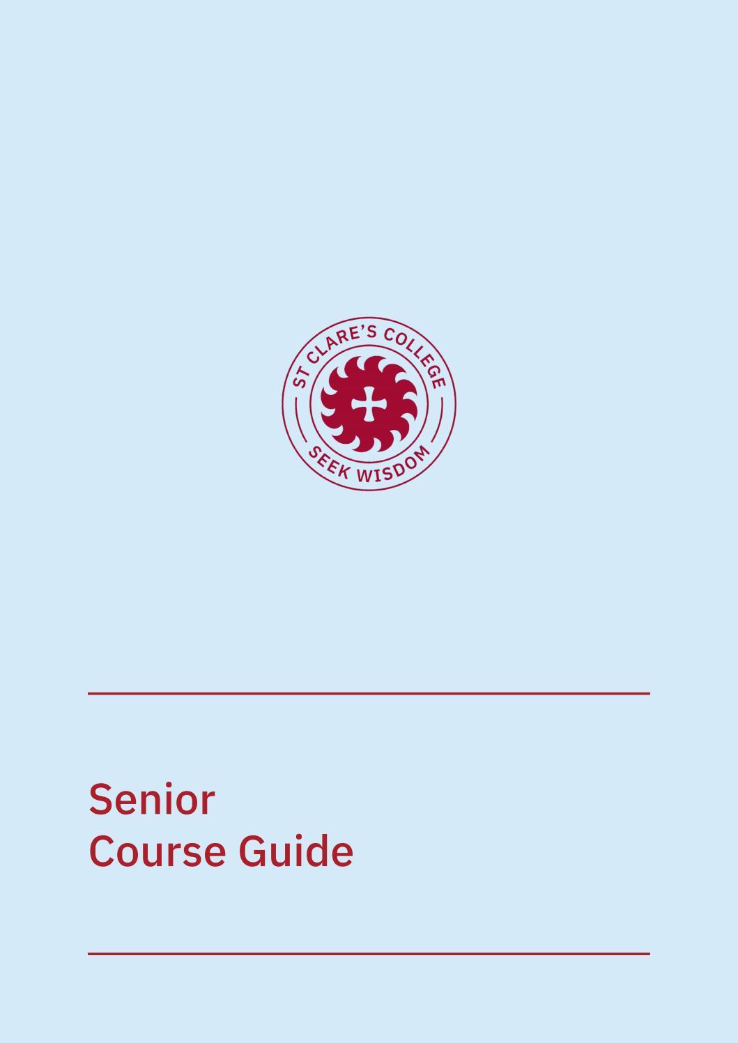 Download Senior Course Guide