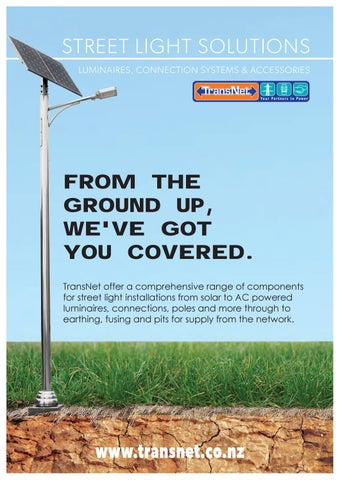 Street Lighting Solutions by TransNet NZ Ltd - issuu
