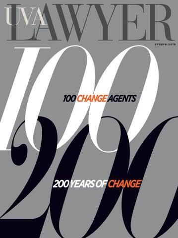 UVA Lawyer, Spring 2019 by Helios Strategic Design - issuu