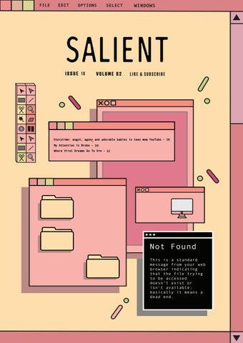 Issue 10 - Like and Subscribe by Salient - issuu