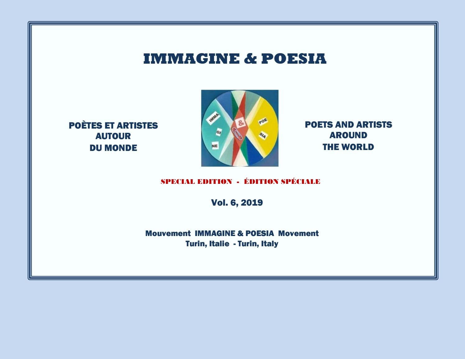 Immagine Poesia 2019 Volume 6 Special Edition By Immagine