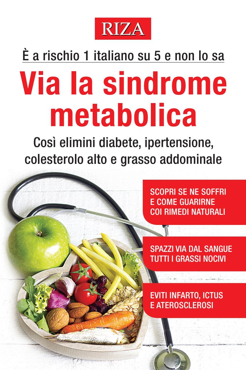 Via la sindrome metabolica by Edizioni Riza - Issuu