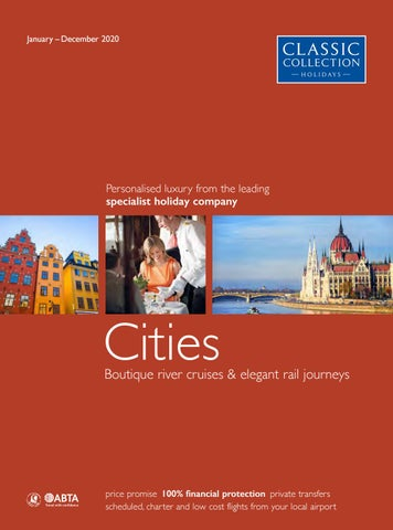 Classic Collection Holidays Cities 2020 by Travel Designers