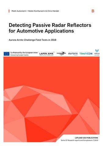 Detecting Passive Radar Reflectors for Automotive