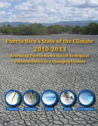 Puerto Rico's State of the Climate 2010-2013 by Colección