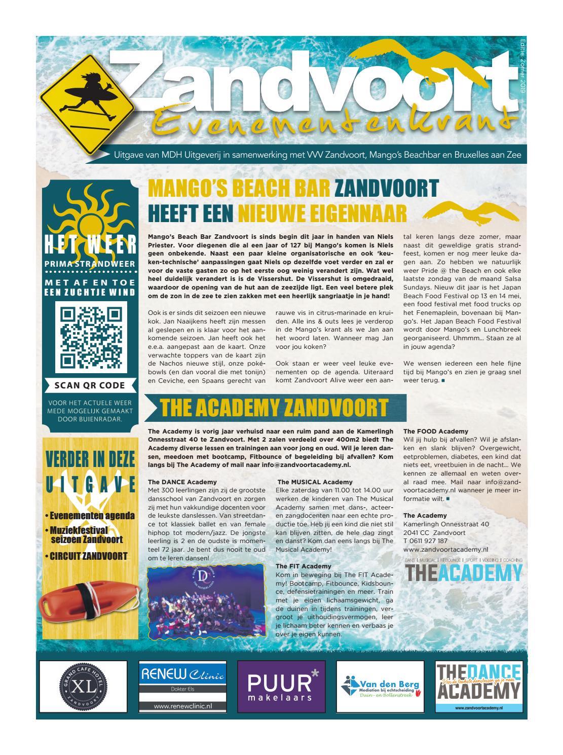 Evenementenkrant Zandvoort By Mdh Uitgeverij Issuu