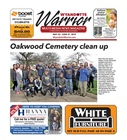 Wyandotte Warrior May 2019 by Graphics Department - issuu