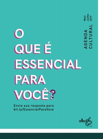 677cc09f0 Agenda Cultural DDC - Maio e Junho/2019 by Departamento de Difusão ...