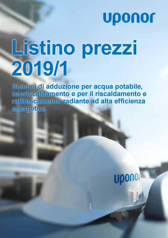 Riscaldamento A Soffitto Prezzo uponor listino prezzi 2019 1 by uponorit - issuu