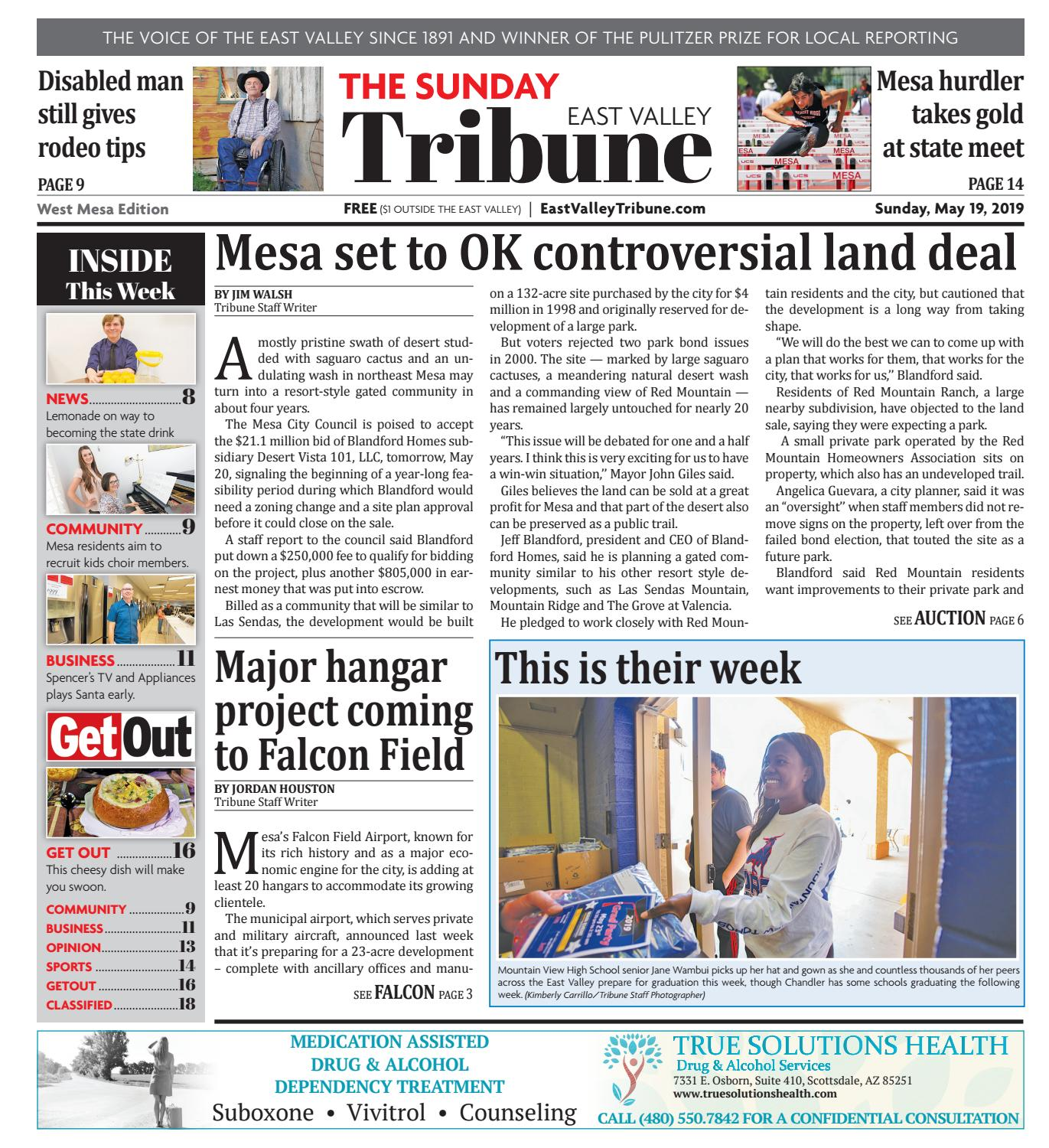 East Valley Tribune West Mesa 05-19-2019 by Times Media Group - issuu