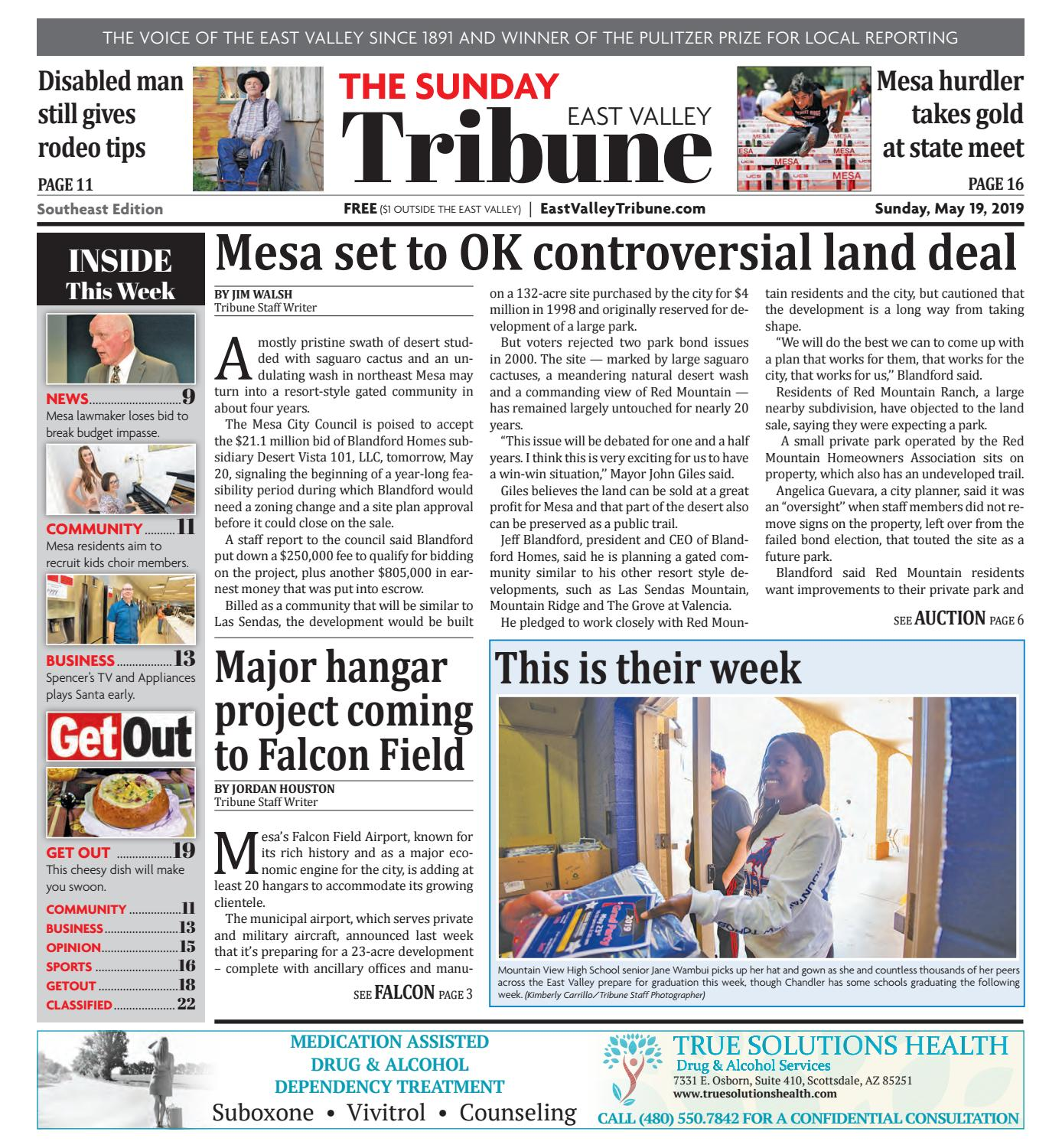 East Valley Tribune Southeast 05-19-2019 by Times Media