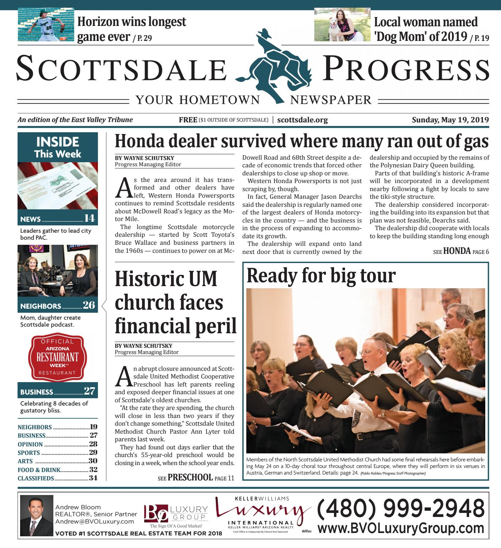 Scottsdale Progress 05-19-2019 by Times Media Group - issuu