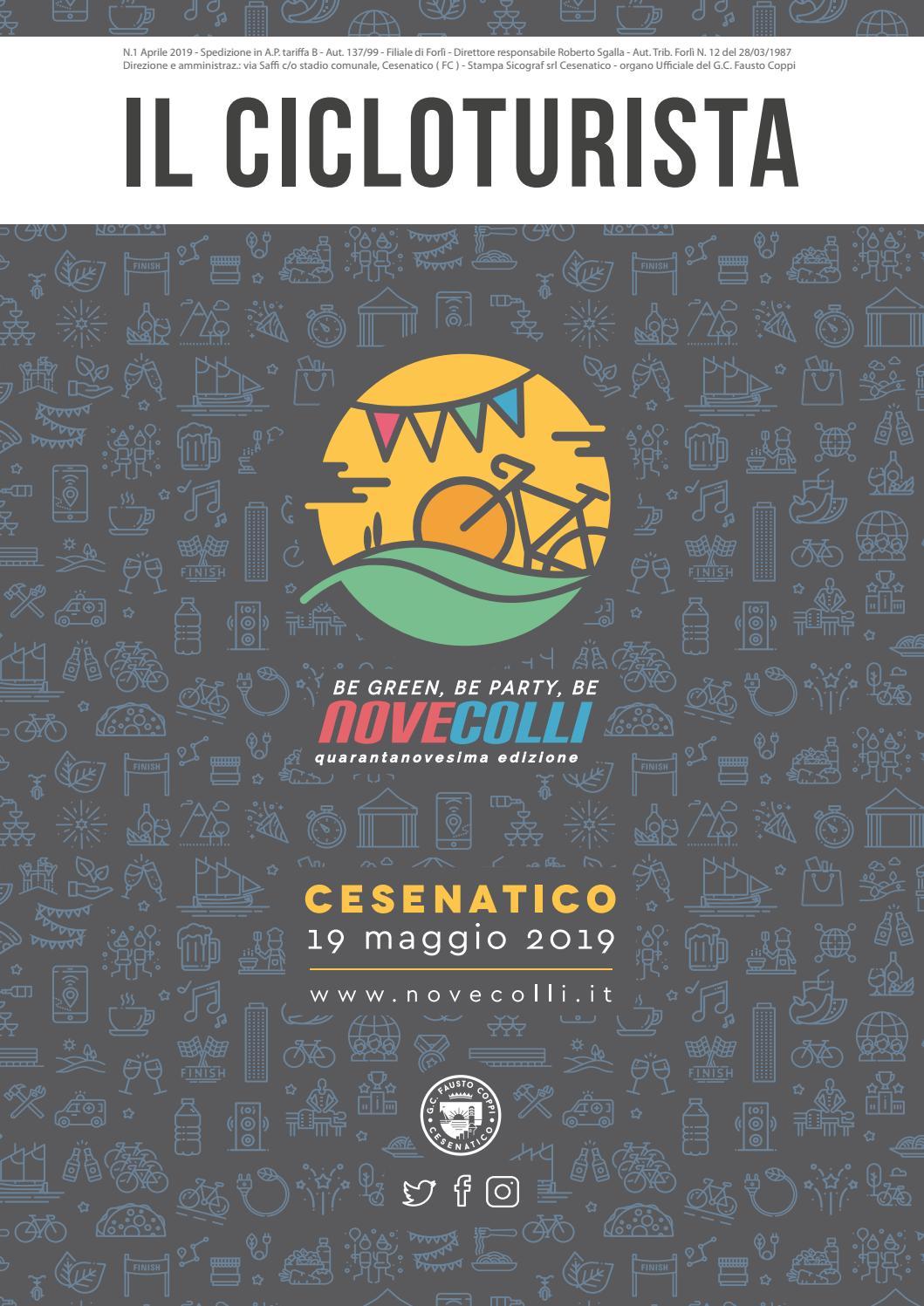Villa Casavecchia Sala Di Cesenatico il cicloturista 2019 by granfondo nove colli - issuu