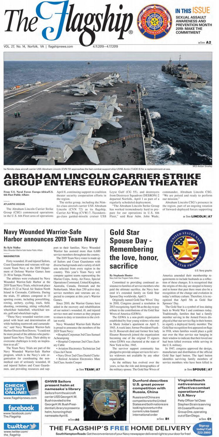 The Flagship Edition 04 11 19 by Military News - issuu