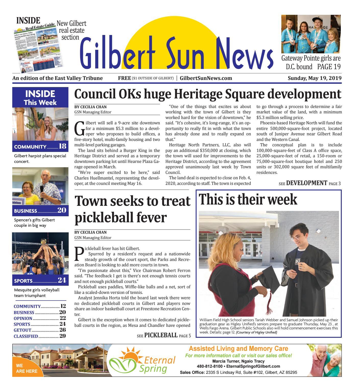 Gilbert Sun News 05-19-2019 by Times Media Group - issuu