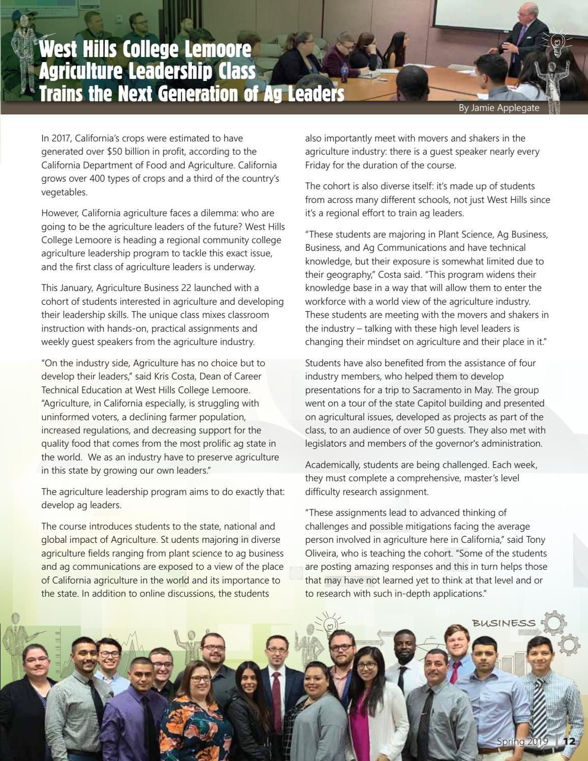 West Hills Magazine - Spring 2019 (Issue 12) by West Hills