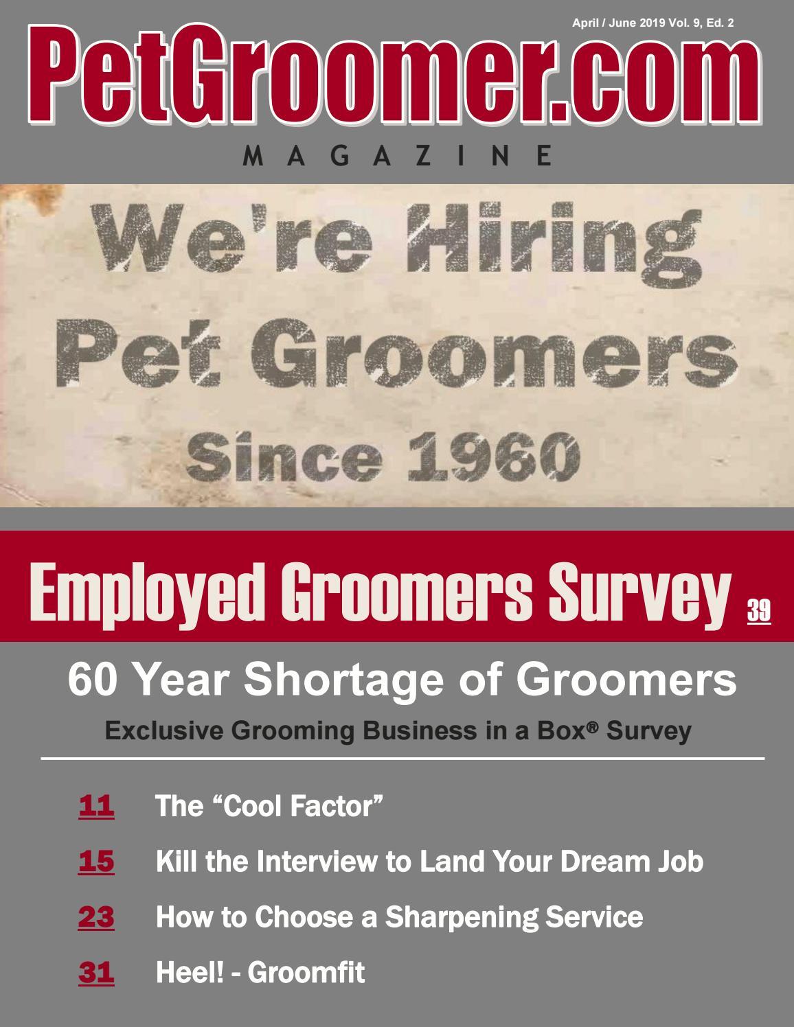 PET GROOMER BANNER SIGN dog grooming clippers vet veterinarian kennel groom