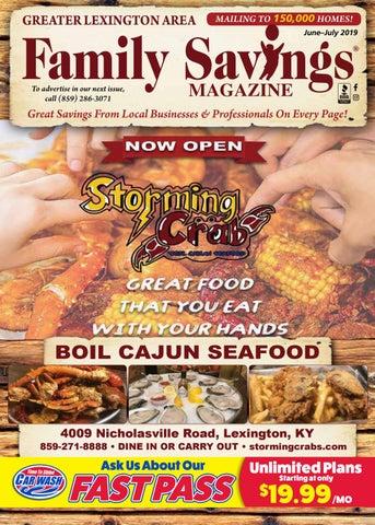 Family Savings Magazine Lexington June July 2019 By Becky