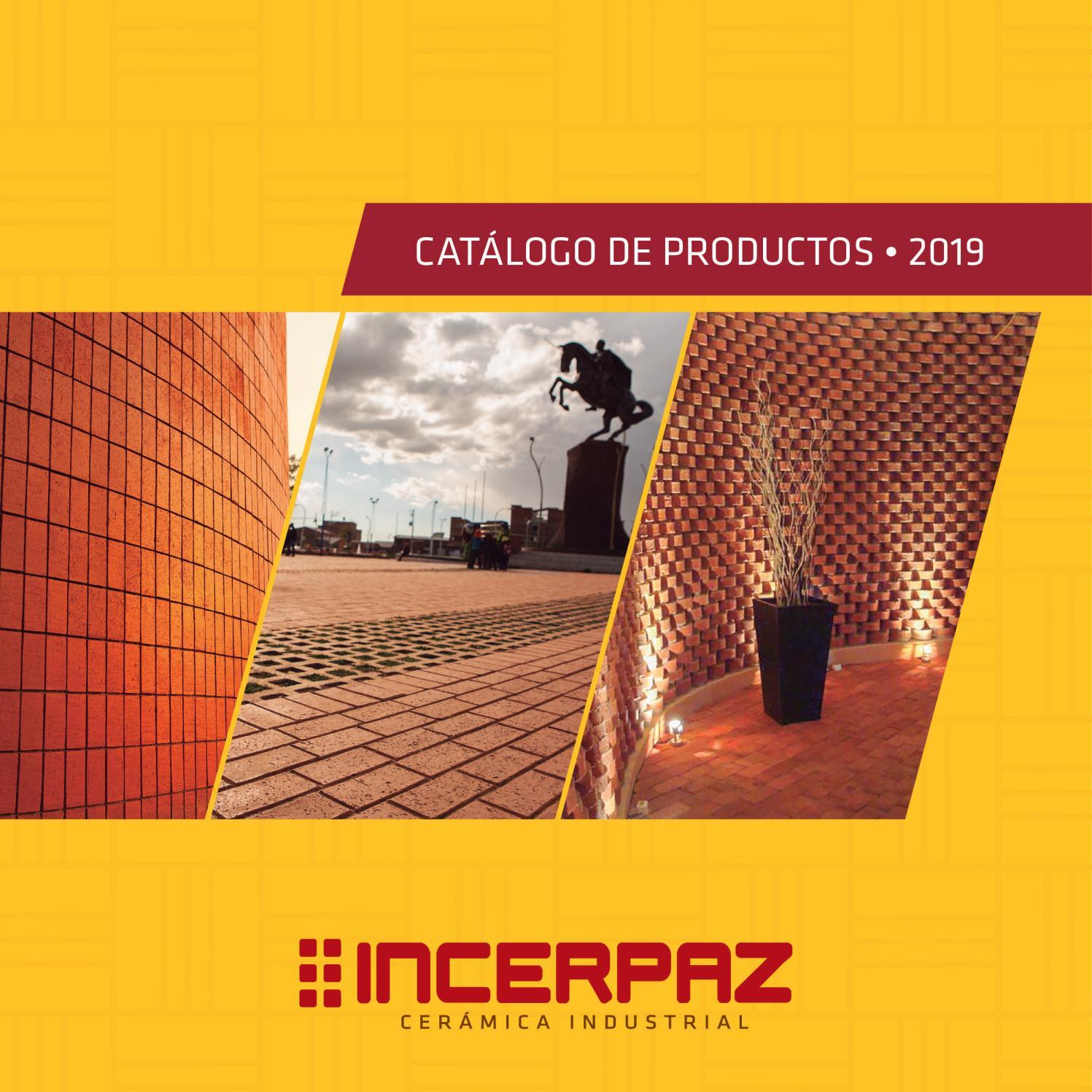 Catálogo INCERPAZ 2019