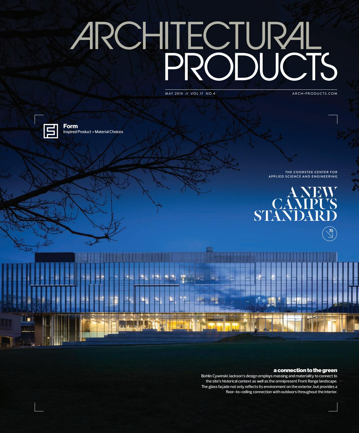 Architectural Products - May 2019 by Construction Business