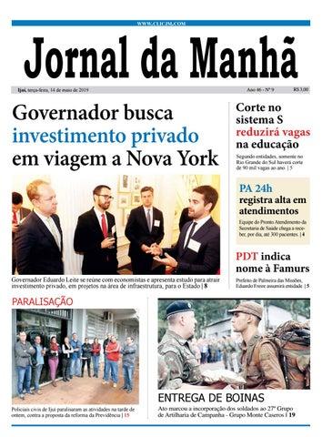 1da1d245d4 Jornal da Manhã - Terça-feira - 14 -5-2019 by clicjm - issuu