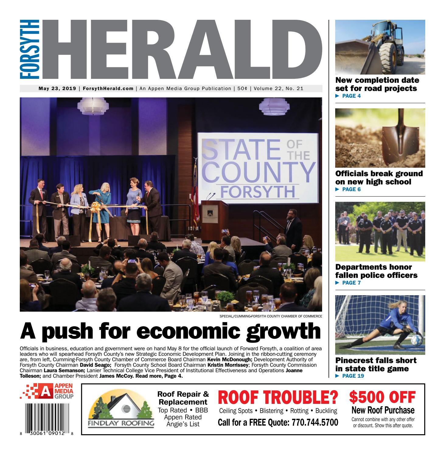 Forsyth Herald — May 23, 2019 by Appen Media Group - issuu
