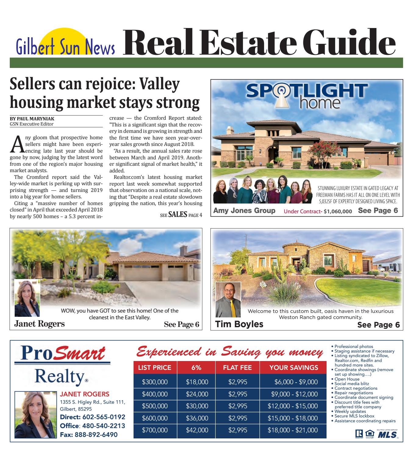 The Sky Isn't Falling | Gilbert Sun News May 2019