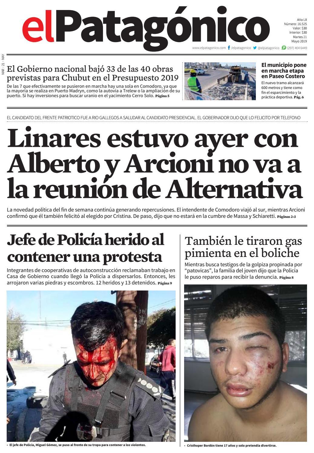 7f492dff17 edicion211320052019.pdf by El Patagonico - issuu